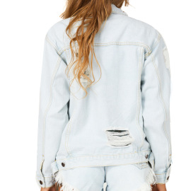 Women's Denim Jacket Nihaostyles Wholesale Clothing NSSY78021
