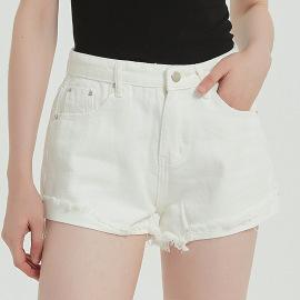 Women's High Waist  Women's Denim Shorts Hot Pants Nihaostyles Wholesale Clothing NSSY78033