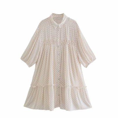 Women's Polka Dot Dress Nihaostyles Clothing Wholesale NSAM78066