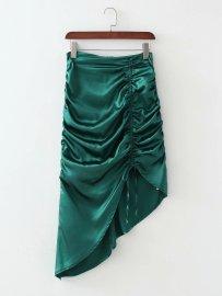 Women's Irregular Drawstring Skirt Nihaostyles Clothing Wholesale NSAM78158