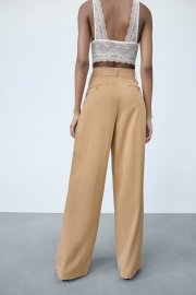Women's Solid Color Straight High Waist Trousers Nihaostyles Clothing Wholesale NSAM78159
